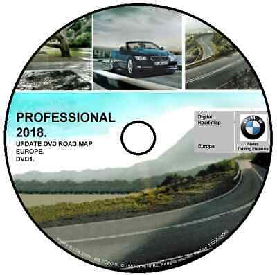 Bmw Road Map Europe Bmw Professional My 2018 Service Road Map 3 Dvd Complete