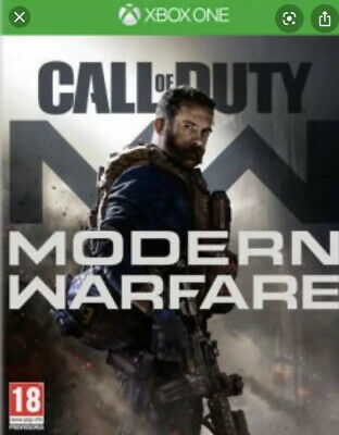 call of duty modern warfare xbox one (Leggere Descrizione/Read Description)