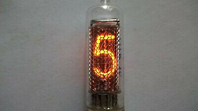 x6 IN-16 NIXIE TUBE, TESTED, Used, made in USSR, DIFFERENT DATES.