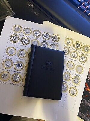 £2 coin album Bundle With £2 Coin Inserts For The Album 96 Coin Spaces