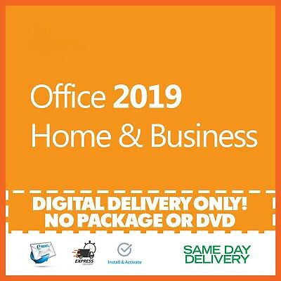 Office 2019 Home and Business Product Key 🔐 Activation License ✅