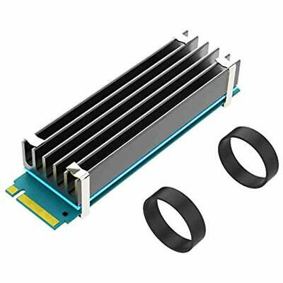 Aluminum M.2 NVMe SSD Heatsink Cooling Heat Dissipation Solid State Hard dfg