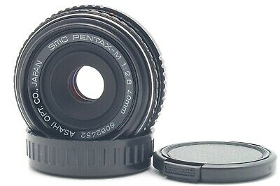 AS-IS SMC PENTAX M 40mm F/2.8 PANCAKE K Mount Lens Free Shipping from Japan