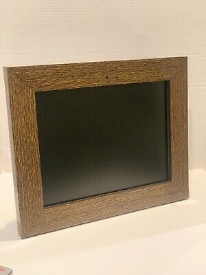"""Full HD Digital Picture 15"""" Large Frame Display Photo Frame Support Wood Brown"""