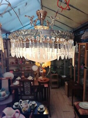 1930s to 50s Art deco light fitting Stunning
