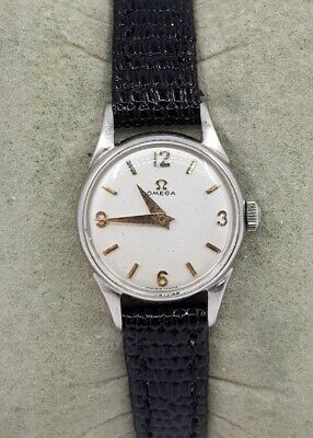 Omega Ladies Cocktail Stainless Steel Swiss Made Watch Cal 244 Ref 2510-33