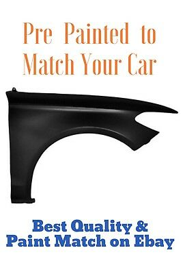 New PRE PAINTED Passenger RH Fender for 2014-2019 Toyota Corolla w Free Touch Up