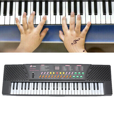 54 Key Music Electronic Keyboard Electric Piano for Beginners (Kids & Adults)