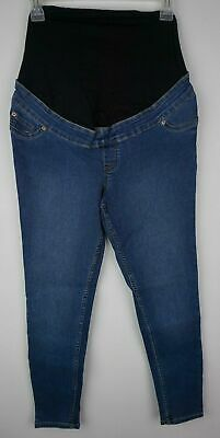 "Ex-Store Maternity Over Bump Shape&Lift Jeggings Size 8, 32"" Leg Ankle Length"