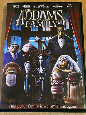 The Addams Family 2019 / 2020 [DVD] DISK ONLY - Fast dispatch