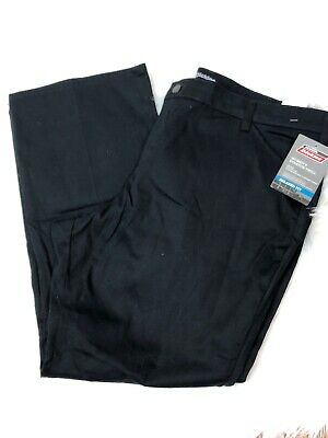 NWT Dickies Cargo Pants Womans Plus Size 18P Black Relaxed Fit Straight Leg