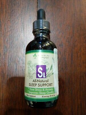 Earth to Humans SL All-Natural Sleep Support, 59ml / 2oz, 10/22, New