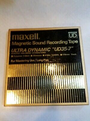 MAXELL Ultra Dynamic UD 35-7 Magnetic Sound Recording Tape