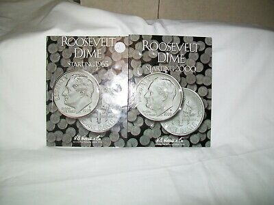 Roosevelt Dimes Complete Set 1965 To 2019-Pd  Vf To Bu