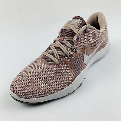 NIKE WOMEN'S FLEX Trainer 8 PRM Shoes Smokey Mauve Diffused