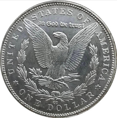 Morgan Dollar $1 1888 USA Monnaie Collection Antique Moore Currency Argent