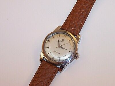 1952 OMEGA Automatic Seamaster Bumper 354 17 Jewel Stainless Steel Men's Watch