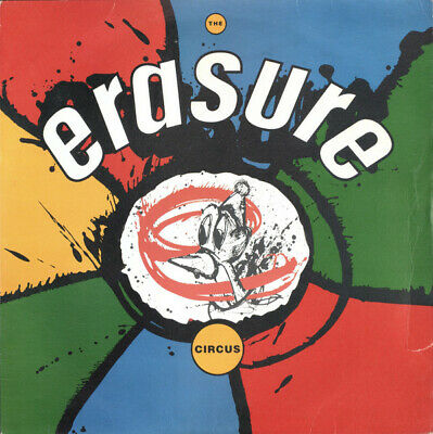 Erasure - The Circus (LP, Album, Dam)