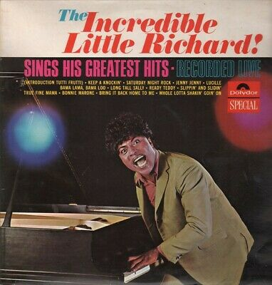 Little Richard - The Incredible Little Richard! Sings His Greatest Hits - Rec...