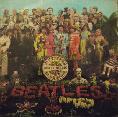 The Beatles - Sgt Peppers Lonely Hearts Club Band (LP, Album, Mono)