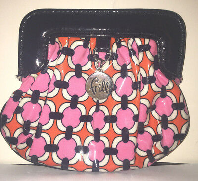 """Vera Bradley FRILL """"CHARMED"""" Coin Purse LOVES ME Excellent pre owned condition"""