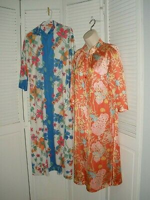 Vintage Vanity Fair & Evelyn Pearson Sz. M Floral Robe Lot