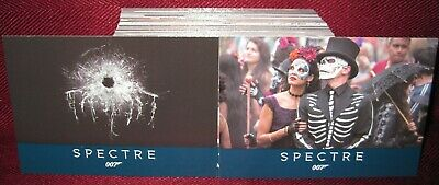 Rittenhouse James Bond Archives Spectre Edition Base Set #1-76 (76 Card Set)