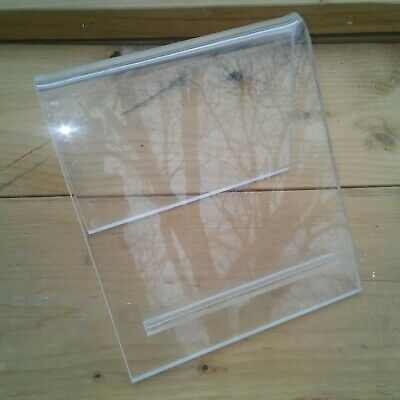 """Counter Display Stand Clear Acrylic 3/8"""" Thick Lot of 5"""