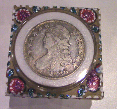 Past Life Relic - Your 1826 Draped Bust Silver Half Dollar Comes Home to You!