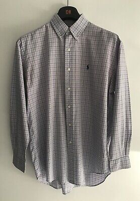 Genuine Mens Polo By Ralph Lauren Shirt Size M Medium Great Condition