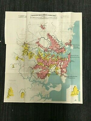 Sydney Water Sewerage & Drainage Map M583