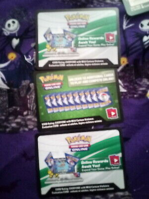 3 Online Pokemon Random Booster Pack or Deck cards - Free Email Delivery of Code