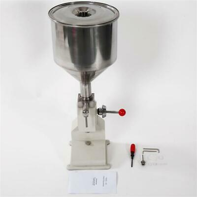 Fully Equipped Stainless Steel Manual Filling Machine A03 Silver & White 10kg