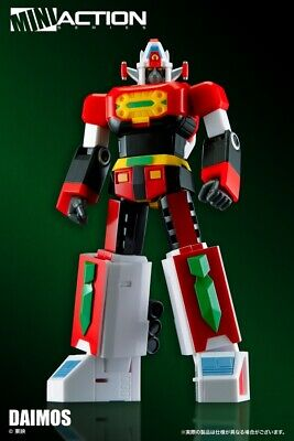 Action Toys Super Robot Mini Action Series General Daimos Nuovo