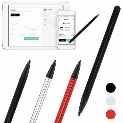 Black Stylus Touch Screen Pens Fit iPad iPod iPhone Samsung Tablet PC Cellphone
