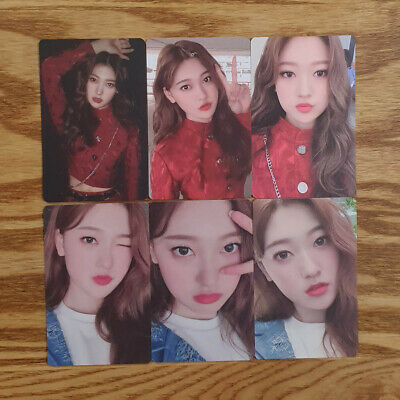 Choerry Photocard Set 6 pcs Loona Official MD Hash # Showcase Genuine Kpop