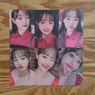 Chuu Photocard Set 6 pcs Loona Official MD Hash # Showcase Genuine Kpop