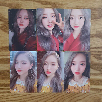 Gowon Photocard Set 6 pcs Loona Official MD Hash # Showcase Genuine Kpop
