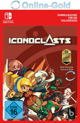 Iconoclasts - Nintendo Switch Nintendo eShop Código digital Acción [UE/ES]