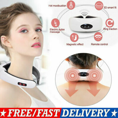 Electric Pulse Neck Massager Magnetic Therapy Pulse Therapy Pulse Vertebra relax