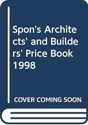 Spons Architects and Builders Price Book 1998, Davis,Langdon & Everest, Used; Go