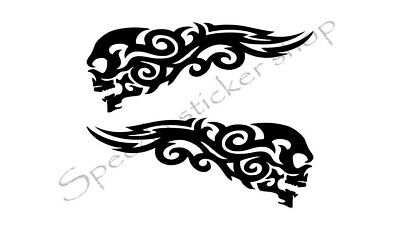 Details about  /Sticker Decal Baseball Skull 20 04701