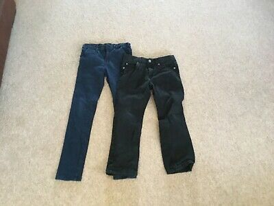 Boys jeans / trousers bundle x2 pairs age 8 by very and TU