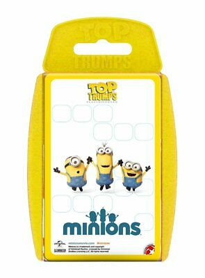 Official Minions Top Trumps Playing Card Family Game New And Boxed