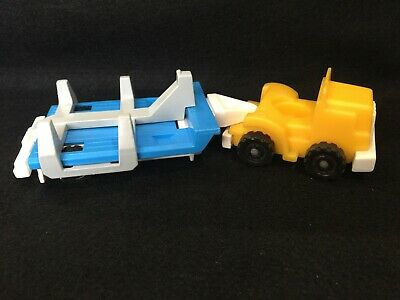 Fisher Price Little People Play Family Semi Truck Big Rig blue 344 396 944