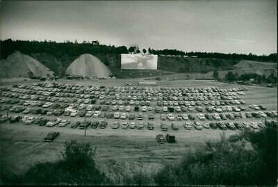Drive-in theater - Vintage photograph