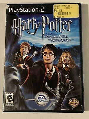 Harry Potter And The Prisoner Of Azkaban, Game, Playstation 2, PS2, No Manual