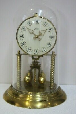 Large Kern Anniversary/400 day/torsion/ dome/ mantle/ Clock