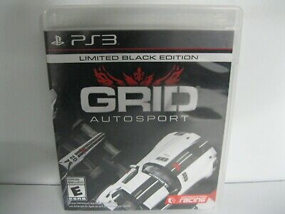 GRID AUTO SPORT Limited Black Edition PS3 game