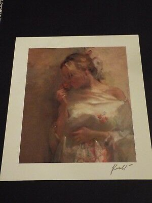 """SCOTT JACOBS /""""GRAPE PERFECTION/"""" SERIOLITHOGRAPH IN COLOR ON PAPER W//COA"""